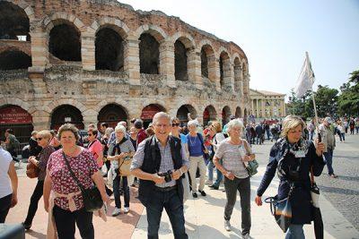 Verona mit Stadtführerin Erika